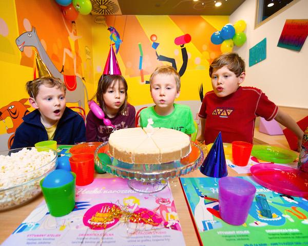Vyjeďte s dětmi slavit narozeniny do BRuNA