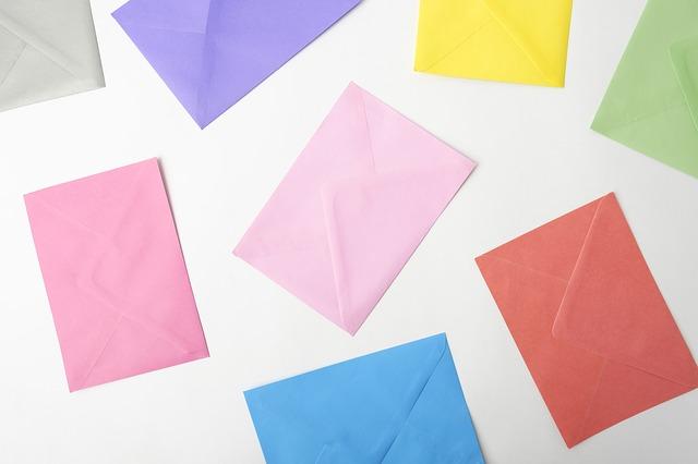 Barevné obálky pro každou příležitost
