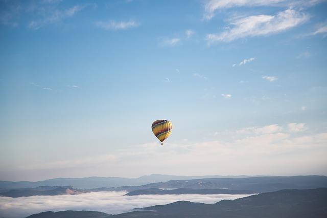 Zažijte spolu romantiku v balónu
