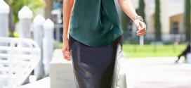 Moderní a nadčasová díky pouzdrové sukni